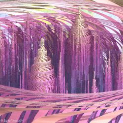 Astral Towers by Fractal-Kiss