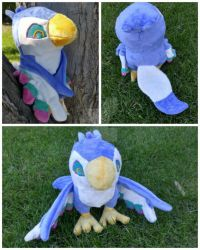 Loftwing Plush Commission by inaligrimalkin