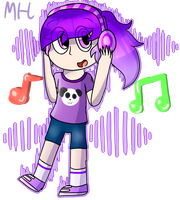 Shelly - Music is the key by SquickWeeb