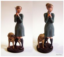 Rule of Rose - Jennifer and Brown statue by LuckyKrusky