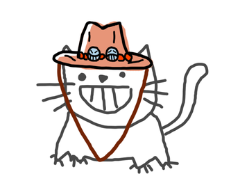 ACE CAT by HELLOILIKECATS