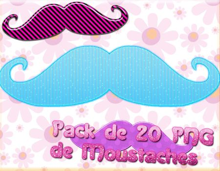 Moustaches Pack by OriVDC