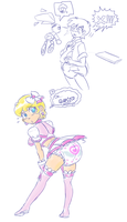 Magical Diaper Princess Leonard-ABDL by RFSwitched