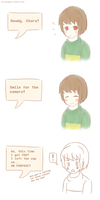 Smile, Chara! by NoruYagami