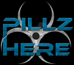 Pillz Here Logo by BrittanysDesigns