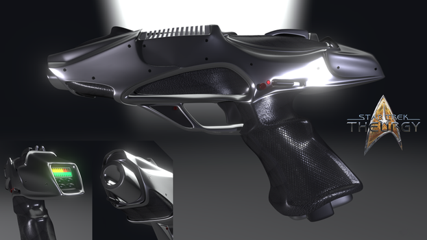 Type II Pulse Phase Pistol | Star Trek: Theurgy by Auctor-Lucan