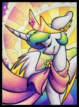 Celestial Grace by MarzKartoons