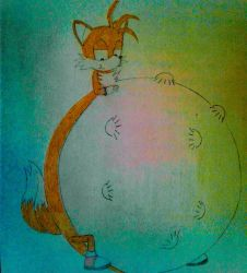 Tails's mass vore by Octopus777