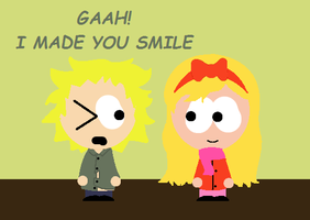 (AT) Tweek and Katherine by AskSophieBunnell