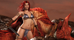 RED SONJA: The Dragon Slayer (1) by Furbs3D