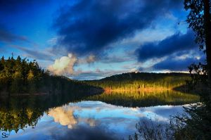 Pass Lake Fidalgo Island by ShannonCPhotography