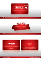 Hepca Business cards by ramywafaa