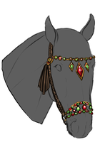 Crafted - fancy halter by WoC-Brissinge