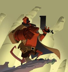 Hellboy Animated by cheeks-74