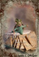Tiny house mouse fairy by cdlitestudio