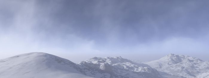 Terragen- Approaching Blizzard by zulamun