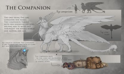 Prop sheet - The Companion by SuzanneLaither
