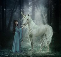 Unicorn by ThelemaDreamsArt