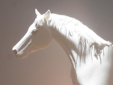 Horse Paper sculpture II by 8thLeo