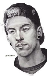 Josh Dun by tendercoal