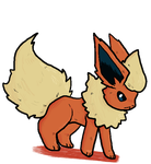 Flareon by Genowhirl910