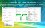 Windows Vista Themes for Windows 10 by WIN7TBAR