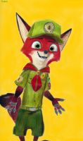 Young Nick Wilde by Taipu556