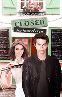 Closed On Mondays // Book Cover by moonxriver