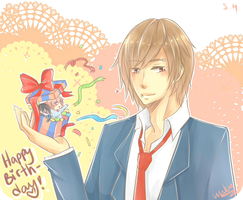 S.H. Happy Birthday Matsuo! by unko-to