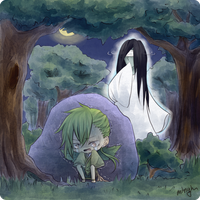 MS: Hauntings of Aetherin event by minghii