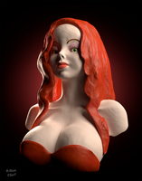 Jessica Rabbit by MaryShan