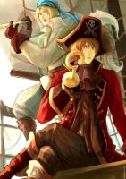 APH- And a bottle of rum YOHO by AlexiusSana
