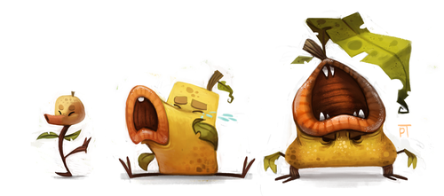 DAY 472. Kanto 069 - 070 - 071 by Cryptid-Creations