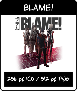 Blame! - Icon by oakabdulla