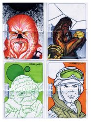 Starwars Empire Heroes_7 by Tom Kelly by TomKellyART