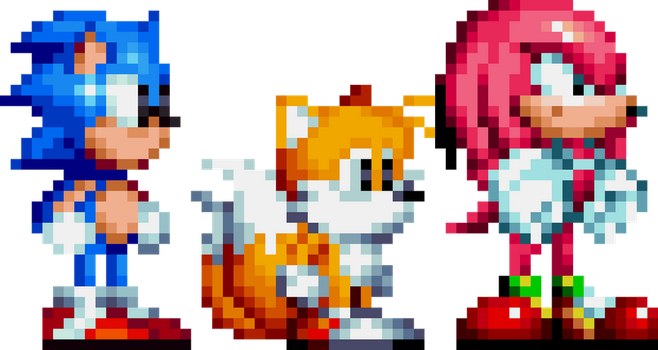 Sonic Mania Game Gear by Smite-the-Pangolin
