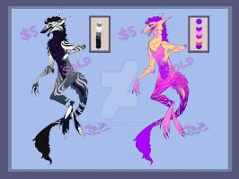 Sergals Adopts (Closed) by Aniju-Aura
