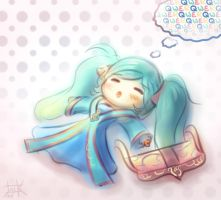 LoL - URF Sona by cubehero