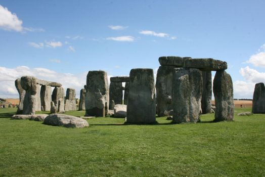 Stone Henge, Spiritual Ring by darathorn