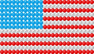 Emote Flag: America by IceXDragon