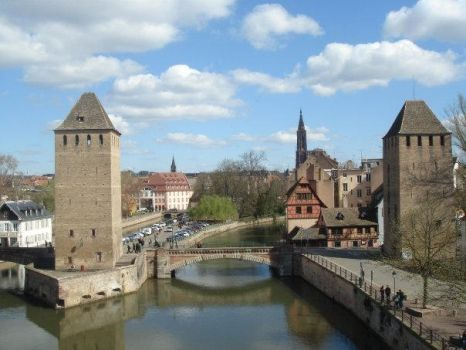 view of Strasbourg by blackdevilbd