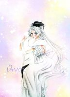 Sailor Moon -Serenity and Endimion - my only love by zelldinchit