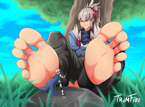 Commission: Giant Takumi by TrumFire