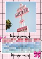 + PASTEL PINK AND BLUE + by kiweeresxources