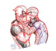 Spideypool Is Canon 2017 by CapConspicuous