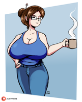 Mei coffee by lucy-fuchs