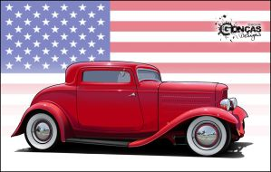 1932 Ford 3 Window Coupe by carguy88