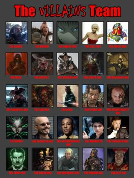 The Villains Team - Coolcat's edition by coolcat001100