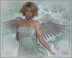 Beautiful Angel by CaperGirl42
