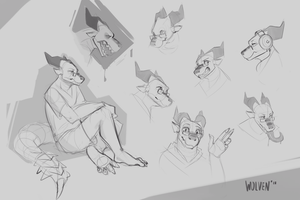 Vynn Doodles by ItsWolven